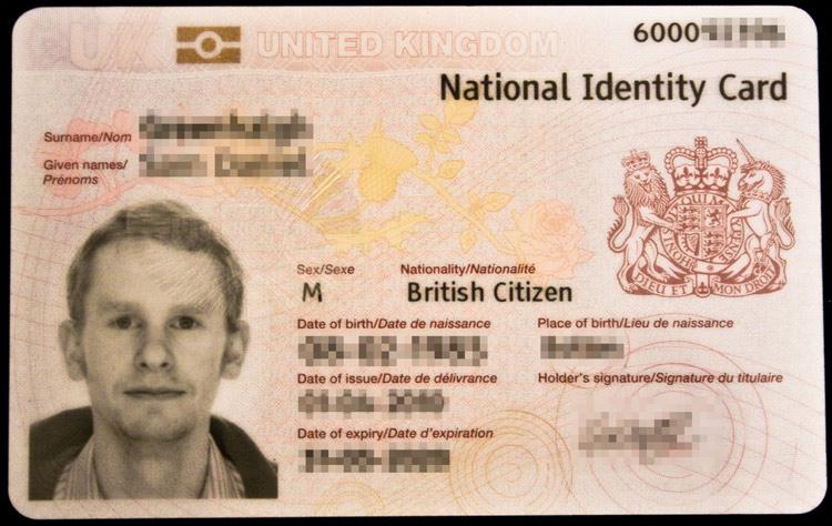 UK Identity Card