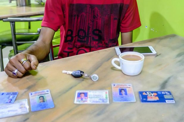What happens when a country gets a new identity card?